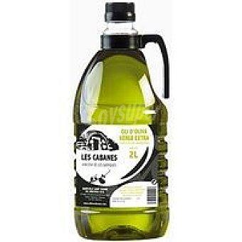 LES CABANES Aceite virgen extra Garrigues Garrafa 2 litros