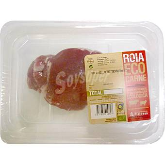 ROIA Ternera ecológica solomillo cortado peso aproximado Bandeja 350 g