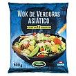 Verduras para wok (asiatico) congelado Paquete 600 g Hacendado