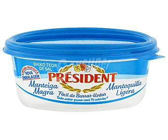 President Mantequilla ligera Tarrina 250 g