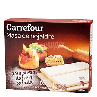 Carrefour Masa de hojaldre estirada 500 g