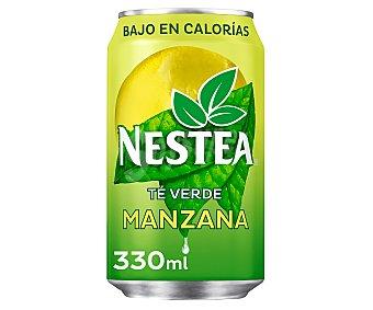 Nestea Refresco té verde a la manzana sin gas Lata 33 cl