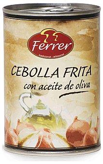 Ferrer Cebolla frita en aceite Lata 390 g