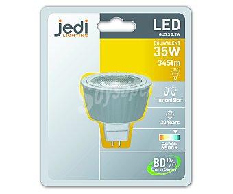 JEDI Bombilla led foco 5,5 Wattios, casquillo GU5.3, luz fría 1 Unidad