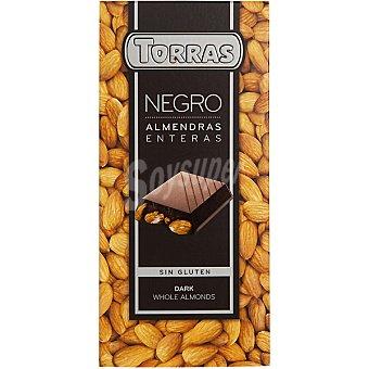 Torras Chocolate bitter almendra - Sin Gluten 200 g