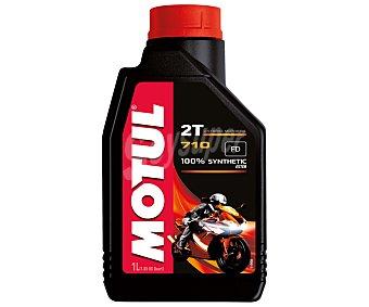 MOTUL Lubricante Sintético para Motocicletas de 2 Tiempos 1 Litro