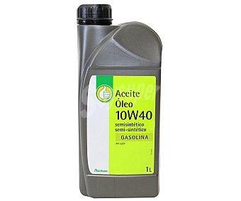 PRDUCTO ECONÓMICO ALCAMPO Lubricante semi sintético para vehículos gasolina 1 Litro
