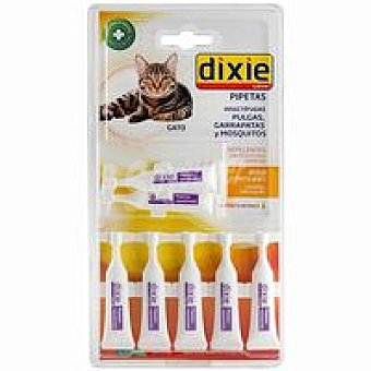 Dixie Pipeta insectif. gato Pack 7x1 ml