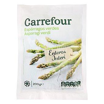 Carrefour Espárragos verdes enteros 200 g