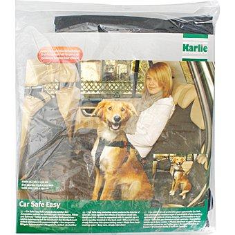 KARLIE Funda protectora para coche con sujeccion para mascotas medidas 162x132 cm 1 unidad 1 unidad