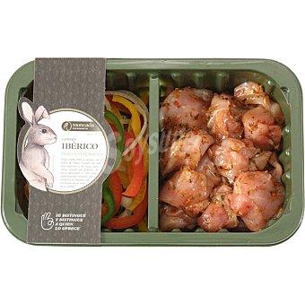 Moncada Wok de conejo ibérico con verduras bandeja 340 g bandeja 340 g