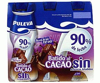 Puleva Batido Chocolate sin Azucares Añadidos 6x175ml
