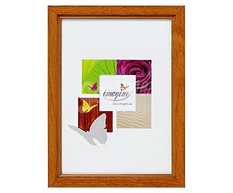 IMAGINE Portafotos de color nogal modelo Primo, para fotografias de tamaño 10x15 1 Unidad