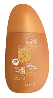 Solcare Protector solar F30 (spray) Bote 250 ml