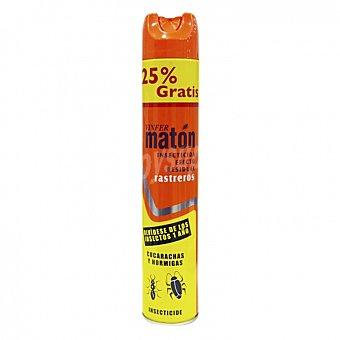 Insecticida rastrero efecto residual Matón 600 ml 600 ml