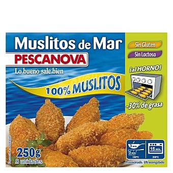 Pescanova Muslitos de mar sin gluten y sin lactosa Estuche 250 g