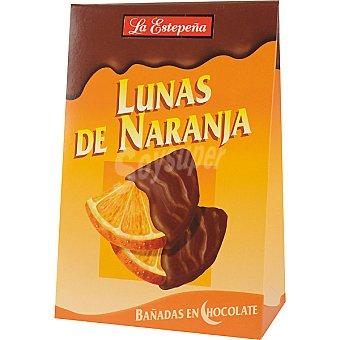 La Estepeña Lunas de naranja bañadas de chocolate Estuche 120 g