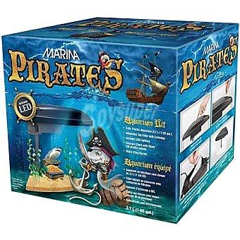 Hagen Kit acuario piratas 37 L caja 1 unidad 37 L 1 unidad