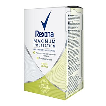 Rexona Desodorante máxima protección antitranspirante crema 45 ml