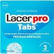 Pro Tabs comprimidos efervescentes limpiadores para protesis dentales caja 32 unidades 32 unidades Lacer