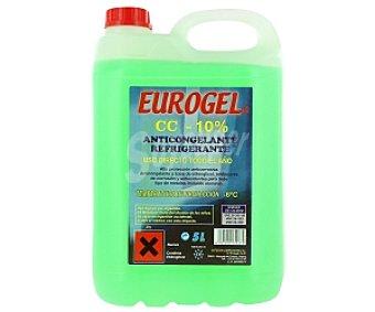 EUROGEL Líquido anticongelante, refrigerante, con temperatura mínima de -6º C 5 litros