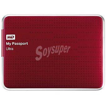 WESTER Disco Duro Externo My Passport 2TB en color rojo