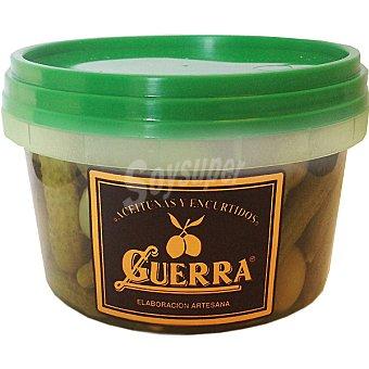 Guerra Cóctel de aceitunas manzanilla Tarrina 300 g