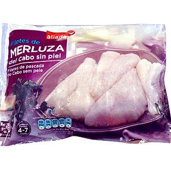 Aliada Filete de merluza del Cabo sin piel 4-7 piezas Bolsa 400 g neto escurrido