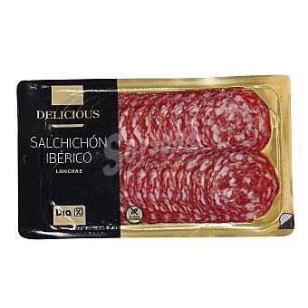 DIA DELICIOUS Salchichón ibérico lonchas Envase 100 gr