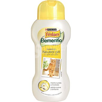 FRISKIES ELEMENTIA Champu para gatos ph neutro bote 250 ml Bote 250 ml