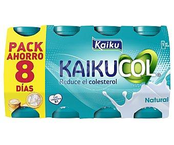 Kaiku Benecol Yogur líquido natural Kaikucol Pack de 8 unidades de 65 g