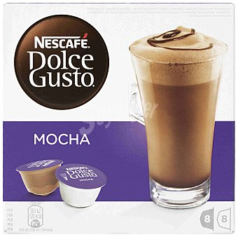 Dolce Gusto Nescafé Café mocha 16 capsulas