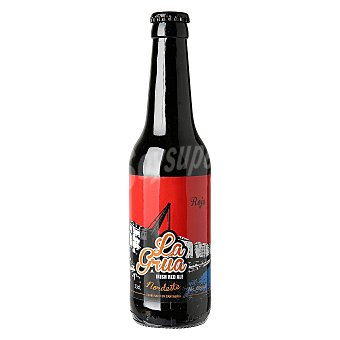 La grua Cerveza artesana Nordeste irlandesa roja Botella 33 cl