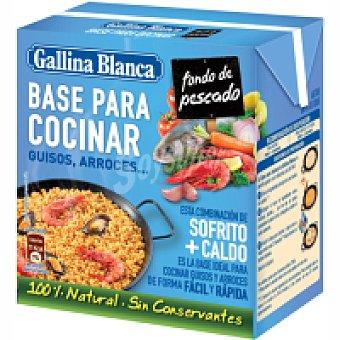 Gallina Blanca Base para cocinar pescado Brik 523 ml