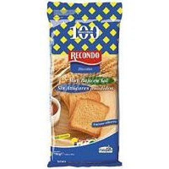 Recondo Biscotte sin sal-sin azúcar Paquete 700 g
