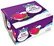 yogur sabor fresa pack 4 unidades 125 g Kaiku Sin Lactosa