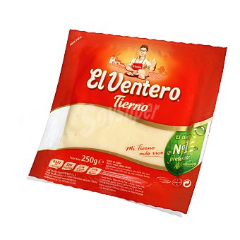 EL VENTERO Queso ventero tierno cuña 250 GRS
