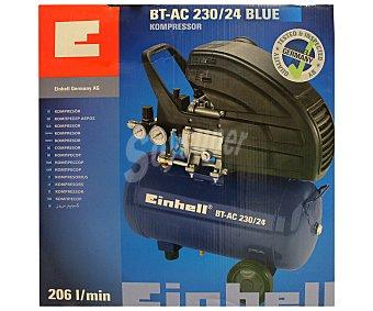 EINHELL Compresor de aire modelo BT-AC 230/24, 1500W, presión variable de 0 a 8 bares 1 Unidad