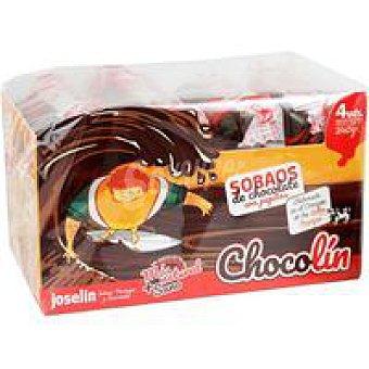 Joselin Sobaos de chocolate con pepitas Paquete 240 g