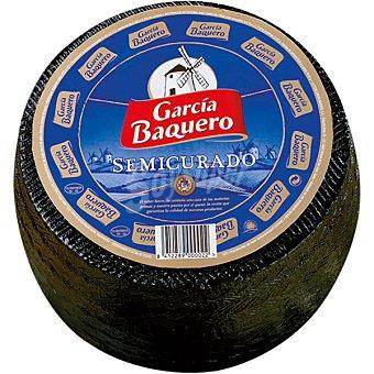 García Baquero Queso semicurado  3,35 kg (peso aproximado pieza)