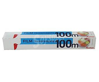 Auchan Film transparente 100 metros rollo de 100 metros