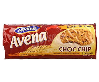 McVities Galletas avena choco chip 300 g