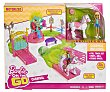 Escenario de juego con accesorios y minimuñeca, On the go Carnival barbie On the go, Carnival  Barbie