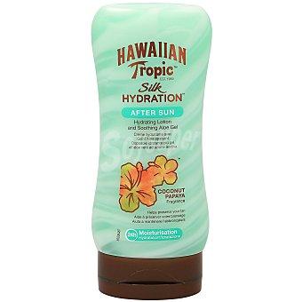 Hawaiian Tropic After sun de coco y payaya con aloe Silk Hydration Bote 180 ml