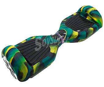 Bluoko Protector de silicona con diseño de camuflaje para patinete eléctrico de equilibrio, bluoko