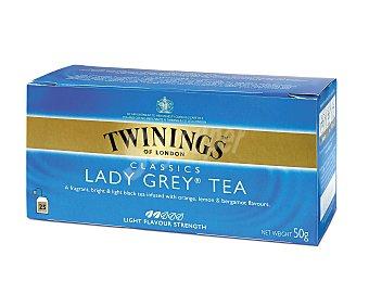 Twinings Estuche lady grey 25 unidades