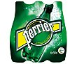 Agua mineral con gas Botella de 50 centilitros pack de 6 Perrier Nestlé
