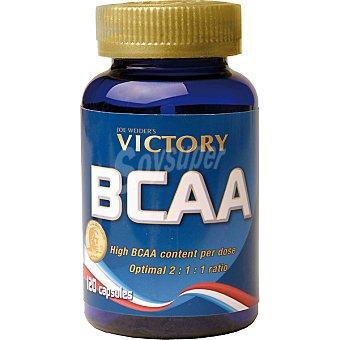 VICTORY Bcaa (optimal 2:1:1 ratio) aminoácidos ramificados ápsulas Envase 120 c