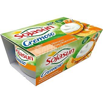 SOJASUN especialidad fresca de soja cremoso sabor albaricoque ... pack 2