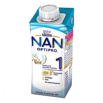Nan Nestlé Leche infantil para lactantes desde el primer día Optipro 1 brik 200 ml
